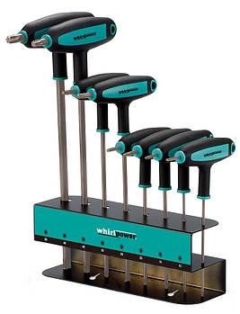 Набор ключей-звездочек TORX Whirlpower 151-1108 8 ед.