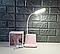 Настольная лед лампа с органайзером для телефона, фото 4