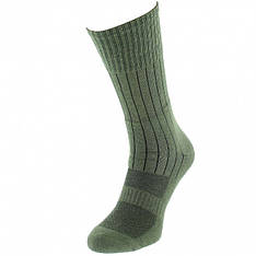 Носки трекинговые с текстурными термозонамы (Olive)