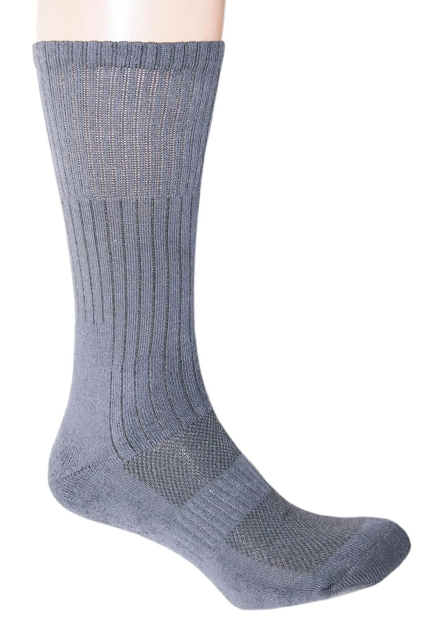 """Трекинговые носки с текстурными термозонамы  """"Navy Blue"""""""