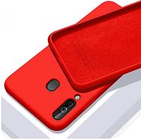 Чехол Silicone Case full для Huawei P40 Lite E Red (хуавей п40 лайт е)