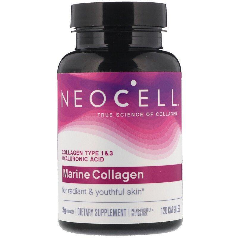 Морський Колаген, NeoCell, 120 капсул