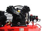 Компрессор воздушный Vulkan IBL 2070E-380-50 ременной 2.2 кВт, фото 5