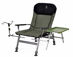 Крісло коропове Elektrostatyk FK5 ST/P посилене з підлокітниками і регульованою спинкою (до 150 кг)