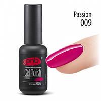 Гель-лак Pnb № 009 (passion), 8ml