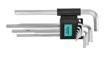 Набор ключей-шестигранников HEX Whirlpower 158-5210, 10 ед.