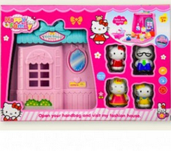 Игровой детский кукольный домик.Кукла домик.Кукольный чудо домик.