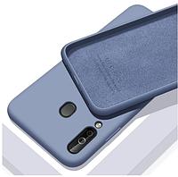 Чехол Silicone Case full для Huawei P40 Lite E Lavander (хуавей п40 лайт е)