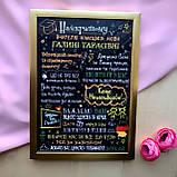 Постеры учителям разных предметов (черный фон), фото 4