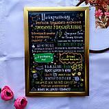 Постеры учителям разных предметов (черный фон), фото 5