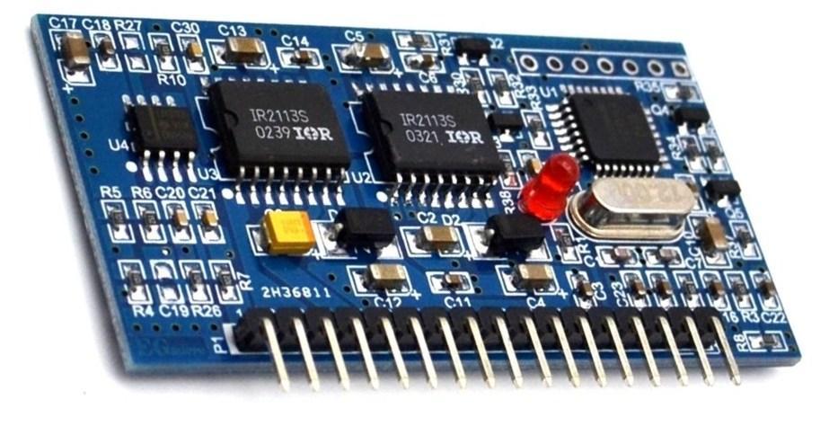 Мощный синусоидальный преобразователь EGS002 (EG8010+IR2110)