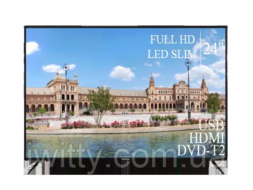 "Телевізор Liberton 24"" FullHD/DVB-T2/USB"