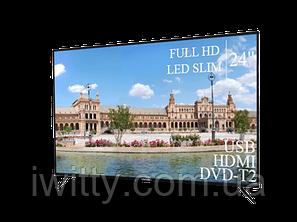 "Телевізор Liberton 24"" FullHD/DVB-T2/USB, фото 2"