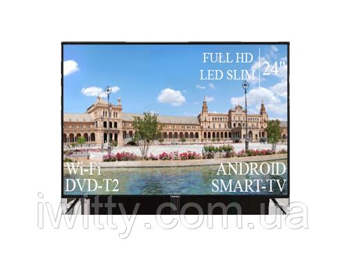 """Телевизор Liberton 24"""" Smart-TV/Full HD/DVB-T2/USB"""
