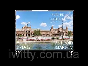 """Телевизор Liberton 24"""" Smart-TV/Full HD/DVB-T2/USB, фото 2"""