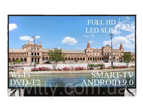 "Телевізор Liberton 42"" Smart-TV/Full HD/DVB-T2/USB Android 9.0"