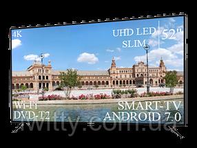 """Телевізор Liberton 52"""" Smart-TV/DVB-T2/USB Android 7.0 АДАПТИВНИЙ 4К/UHD, фото 2"""
