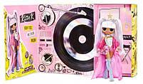 Кукла ЛОЛ Сюрприз ОМГ Королева Китти Ремикс - LOL Surprise OMG Remix Kitty K 567240, фото 4