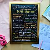 Постеры учителям разных предметов (черный фон), фото 10