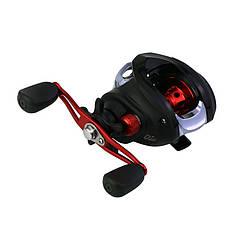 Котушка мультипликаторная Reelsking GLE 201 Black-Red Left