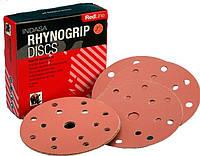 Шлифовальные диски d 125мм rhynogrip red line 1000