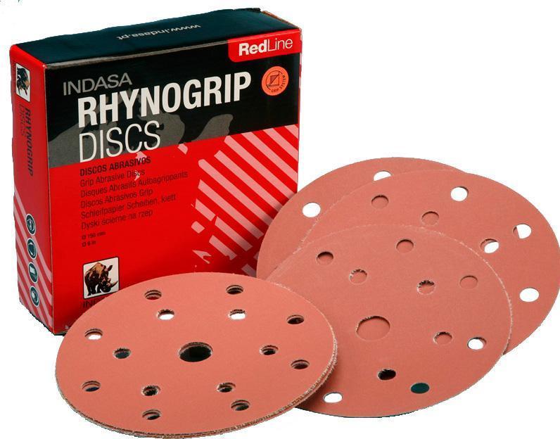 Шлифовальные диски d 125мм rhynogrip red line 220 - Компания «Строй-Сервис» в Кременчуге
