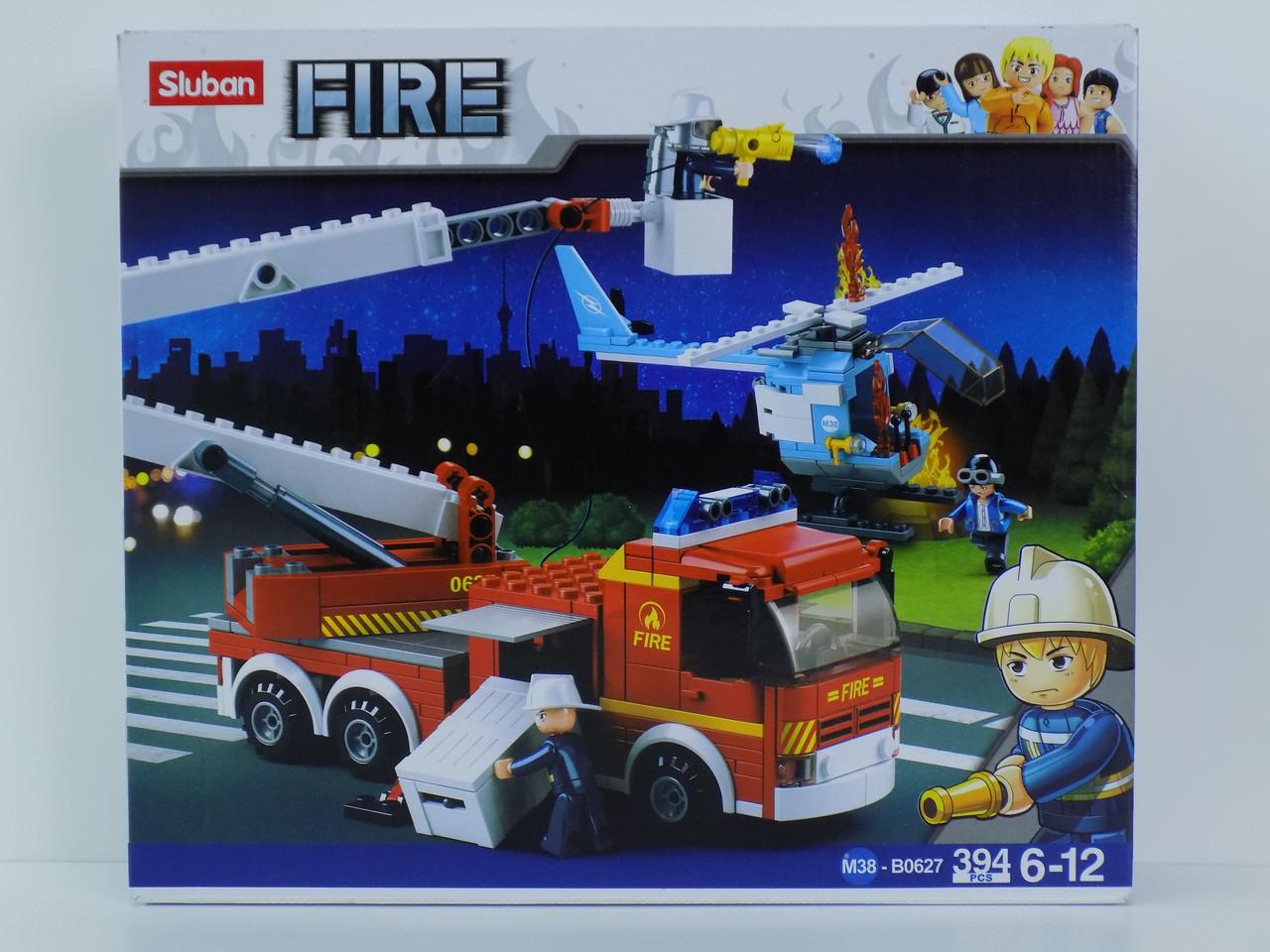 Конструктор пожарники машина