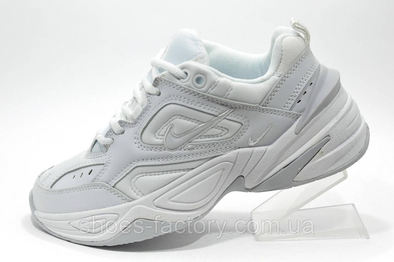 Білі кросівки в стилі Nike M2K Tekno, (Air Monarch)