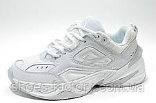 Білі кросівки в стилі Nike M2K Tekno, (Air Monarch), фото 2