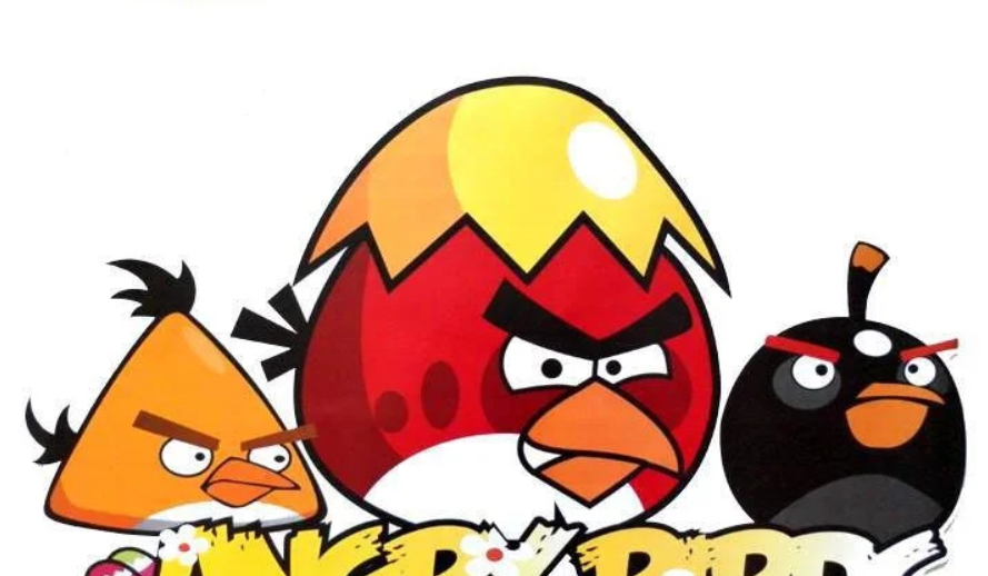 Наклейки на стену виниловые Angry Birds 15 шт.