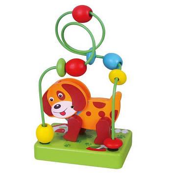 Деревянный лабиринт Viga Toys Собачка (59662)