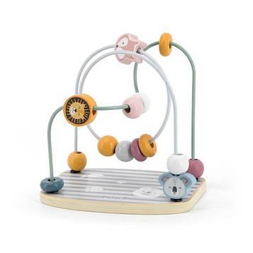 Деревянный лабиринт Viga Toys PolarB Бусины (44020)