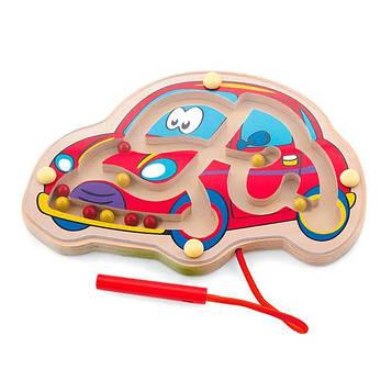 Магнитный лабиринт Viga Toys Машинка (50163)