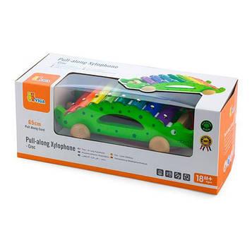 "Іграшка-каталка Viga Toys ""Крокодил"" (50342) (SV)"