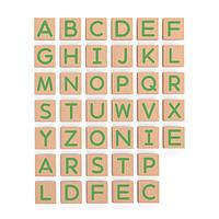 Набор магнитных букв Viga Toys Заглавные, 40 шт. (50588)