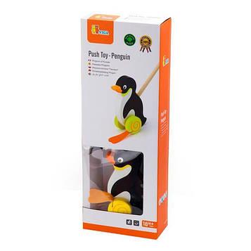 """Іграшка-каталка Viga Toys """"Пінгвін"""" (50962) (SV)"""