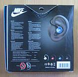 Наушники вакуумные спортивные Nike NK-536 (голубые), фото 2