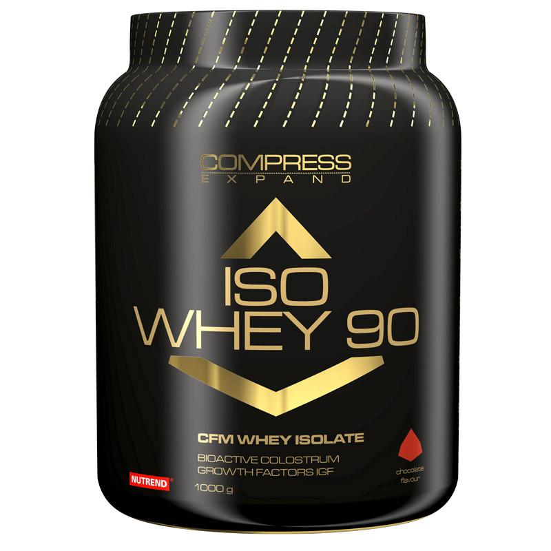 Протеин Compress Iso Whey 90 (1000 г) Nutrend