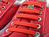 Силиконовые шнурки Красные, фото 5