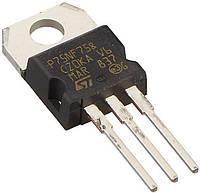 Транзистор P75NF75 (STP75NF75) STRIPFET II, N-канал, 75В, 0.0095Ом, 80А TO-220AB, фото 1