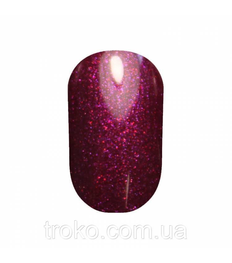 Гель-лак Oxxi №237 темная фиолетовая фуксия с микроблеском 10 мл