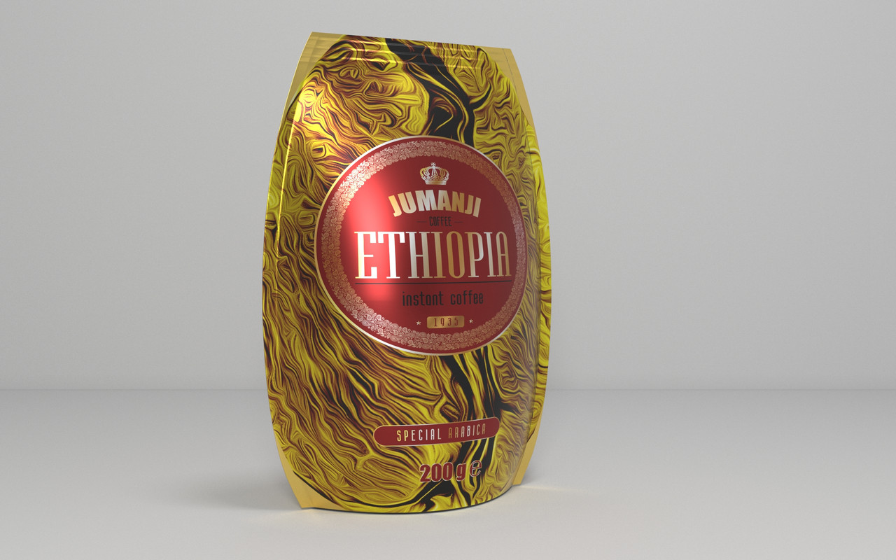 Jumanji Ethiopia 200 г. растворимый