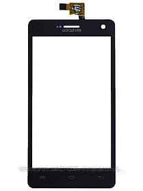 Тачскрин (сенсор) GoClever Insignia 500, black (чёрный)