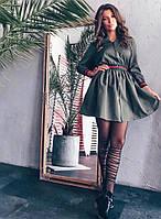 """Платье женское """"Диагональ"""" ткань - софт диагональ, мягкое, держит форму на молнии(42-46), фото 1"""