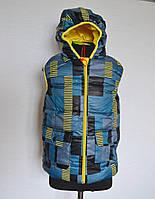 Детская жилетка безрукавка для мальчиков от 5-8 лет весна-осень, фото 1