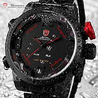 Мужские наручные часы Shark Digital LED Sport Watch Red SH105