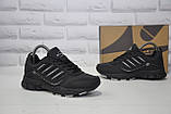 Підліткові чорні кросівки натуральний нубук BONA (розміри в наявності:36-41), фото 3