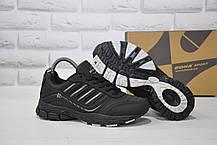 Подростковые черные кроссовки натуральный нубук BONA (размеры в наличии:36-41)