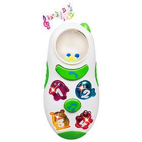 Музыкальная игрушка BeBeLino | Детский телефон с погремушкой