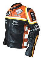Куртка Микки Рурка Харлей Дэвидсон и ковбой Мальборо кожаная куртка, фото 1